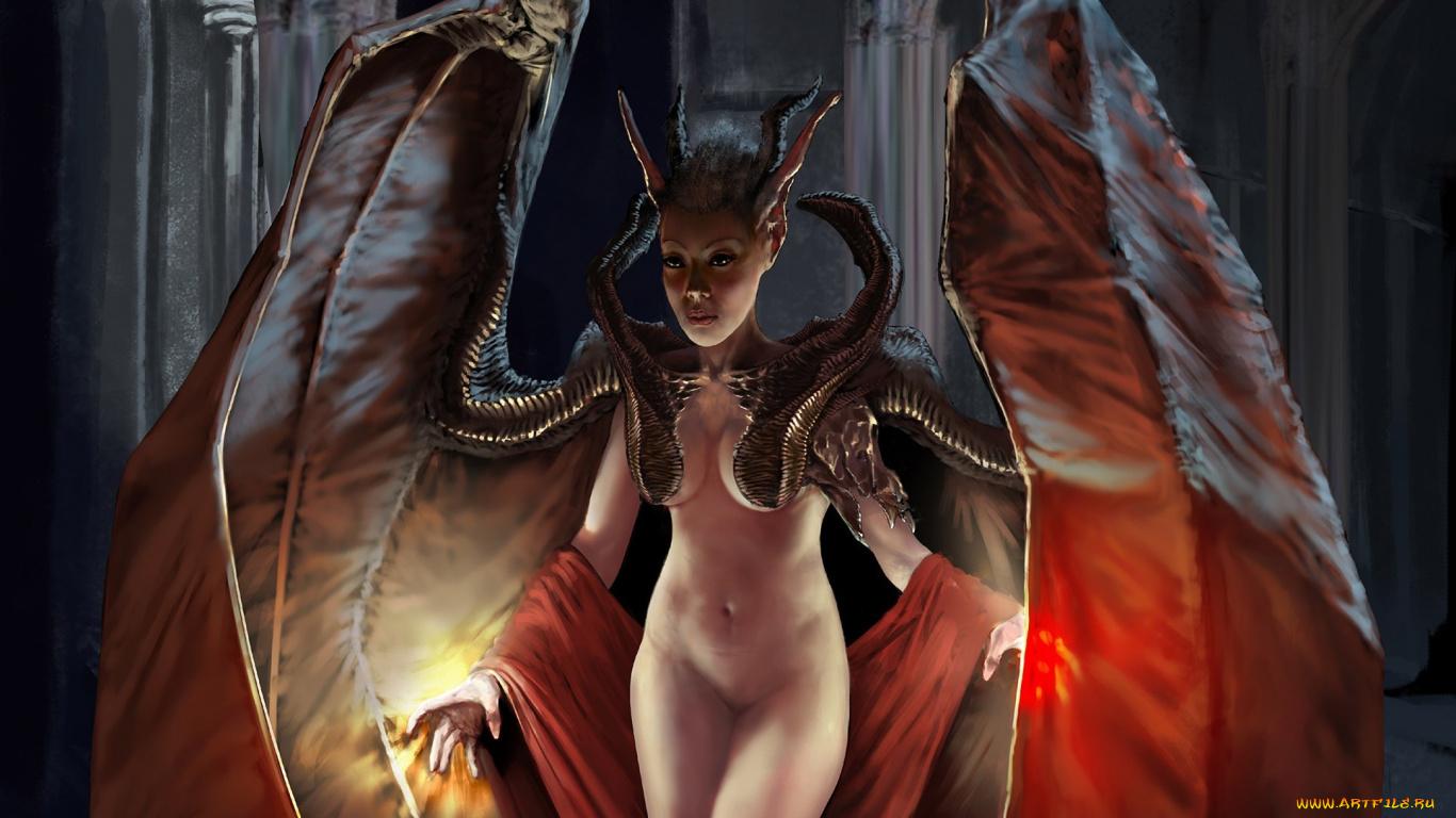 Nude demon woman sex clips