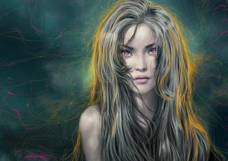 Картинка разное компьютерный+дизайн jacinta maree девушка портрет волосы