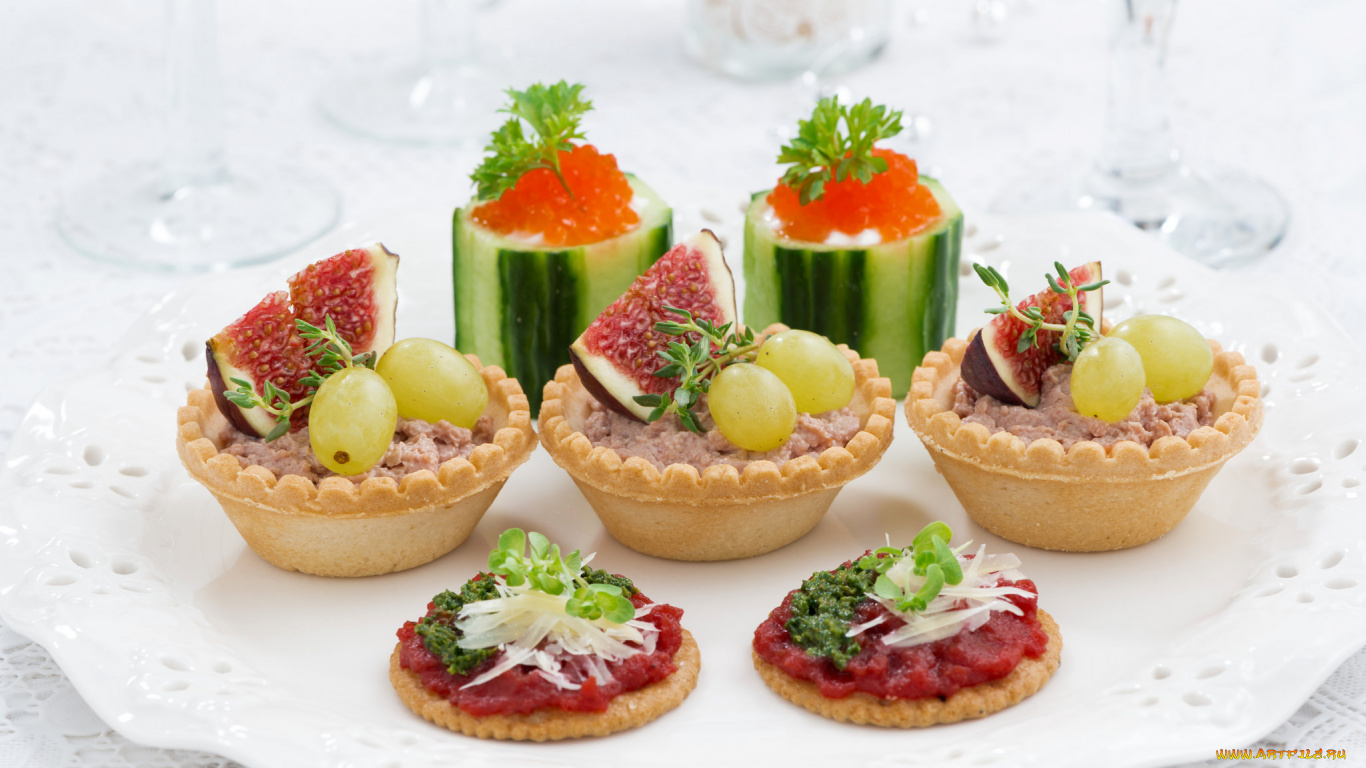 Фимо-фрукты на ногтях