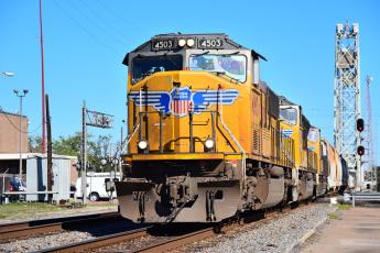 обоя техника, поезда, состав, локомотив, рельсы