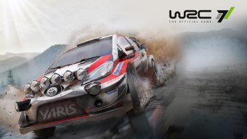 обоя world rally championship 7, видео игры, гонки, world, rally, championship, 7, симулятор