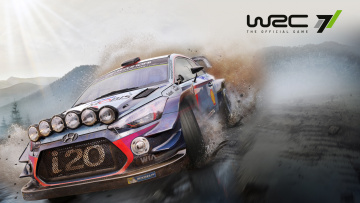 обоя world rally championship 7, видео игры, world, rally, championship, 7, симулятор, гонки