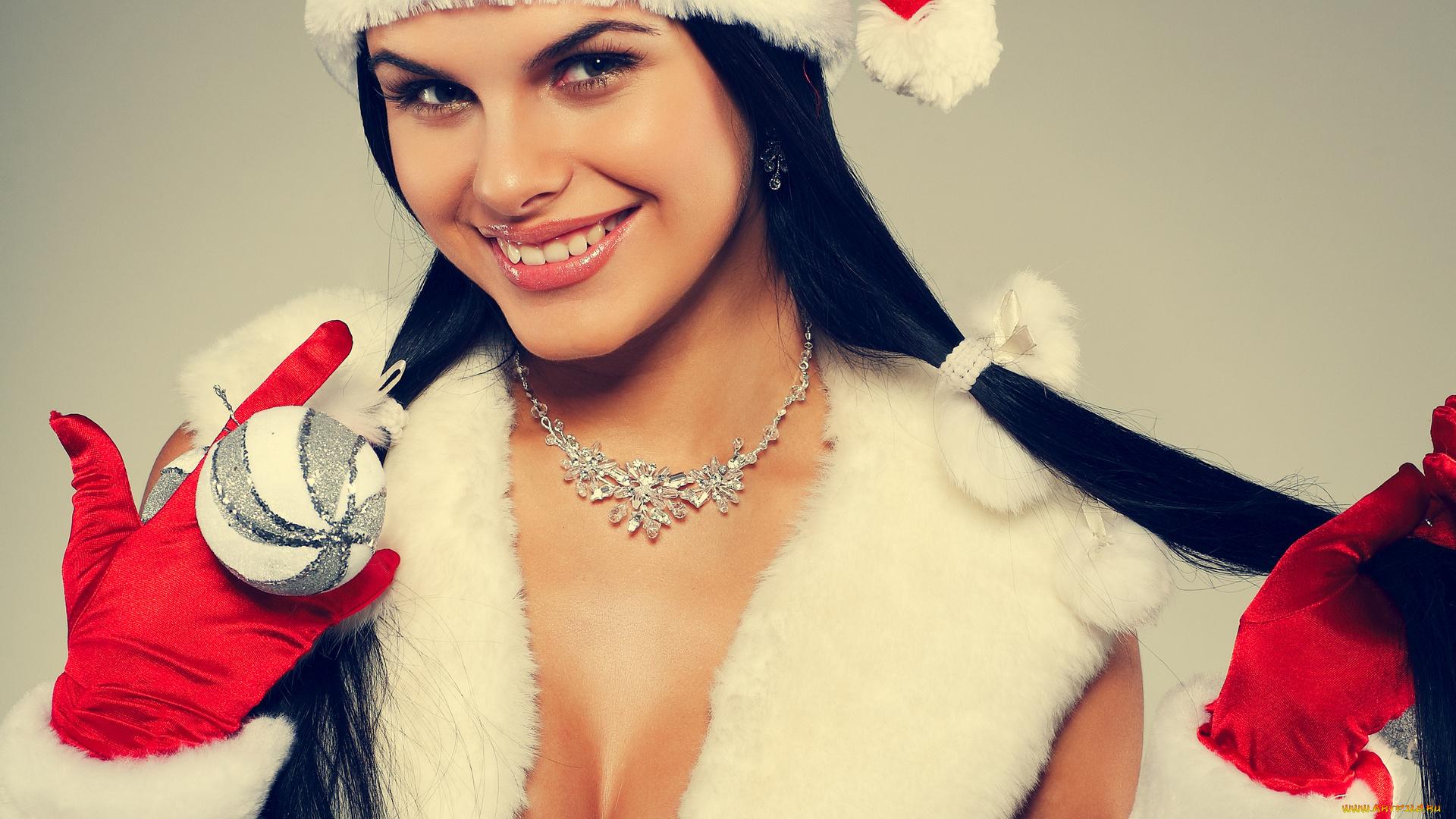 миловидная снегурочка  № 359423 без смс