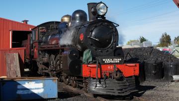 Картинка ex+nzr+a428+steam+locomotiv техника паровозы паровоз уголь локомотив