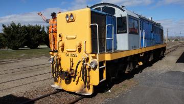 Картинка ex+nzr+dj+3228+locomotive техника локомотивы локомотив рельсы железная дорога