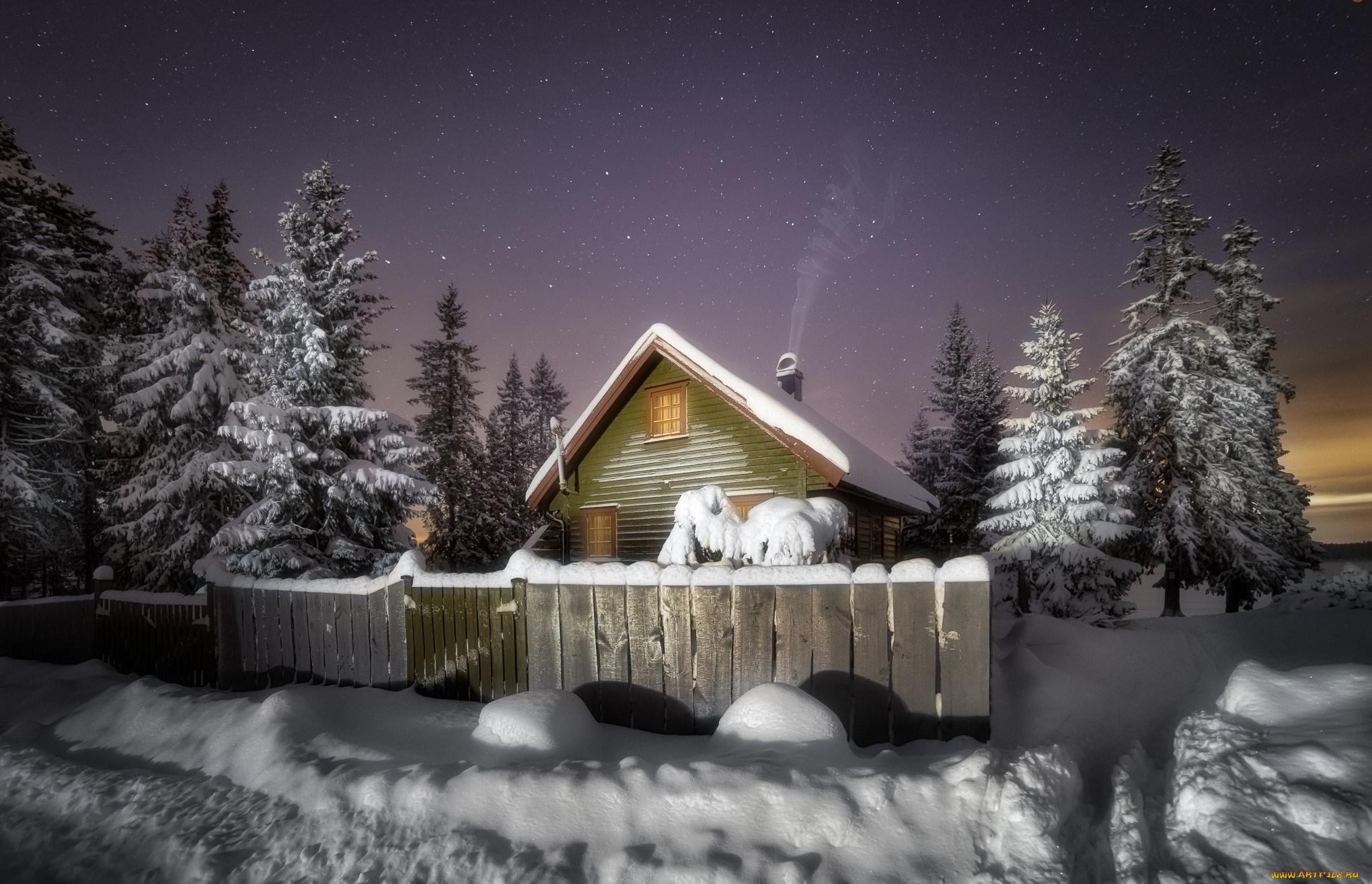 Картинки домик в снегу, картинки спасибо