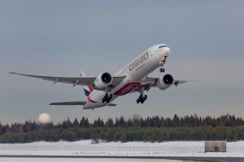 Картинка boeing+777-31h er авиация пассажирские+самолёты авиалайнер