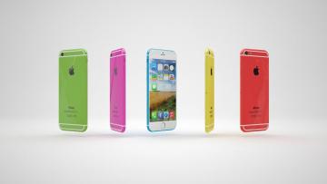 обоя бренды, iphone, фон, смартфоны