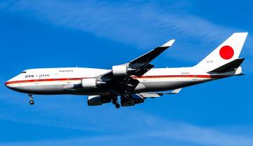 обоя boeing 747-47c, авиация, пассажирские самолёты, авиалайнер