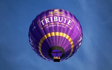 обоя авиация, воздушные шары, реклама