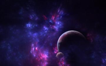 Картинка космос арт звезда галактика вселенная планеты