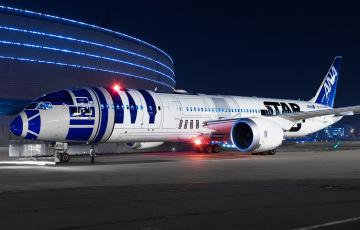 обоя b789, авиация, пассажирские самолёты, авиалайнер