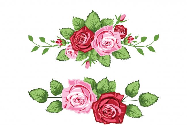 Векторная графика цветы