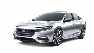 обоя honda insight concept 2018, автомобили, honda, 2018, concept, insight