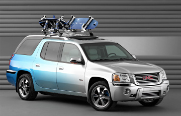 обоя gmc envoy xuv at4 concept 2003, автомобили, gm-gmc, at4, xuv, envoy, 2003, gmc, concept
