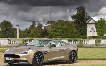 Картинка автомобили aston martin subsection am 310 vanquish sports