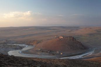 Картинка тибет +монастырь+Чиу природа реки озера долина монастырь река горы паломничество