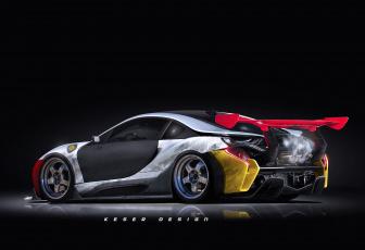 Картинка автомобили виртуальный+тюнинг i8