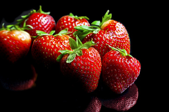 обоя еда, клубника,  земляника, ягодки