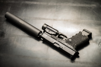 обоя оружие, пистолеты с глушителемглушители, ствол