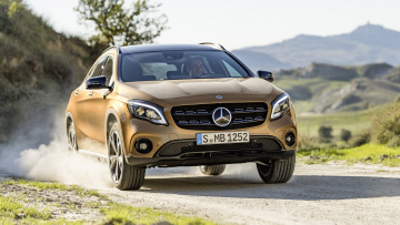 обоя mercedes-benz gla 220d 4matic 2018, автомобили, mercedes-benz, gla, 2018, 4matic, 220d