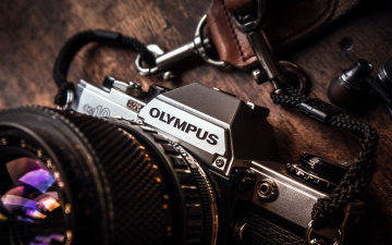 обоя бренды, olympus, камера