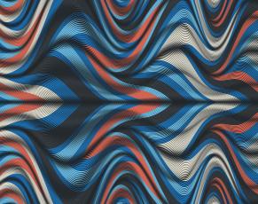 обоя векторная графика, графика , graphics, изгибы, линии, цвета, фон, узор