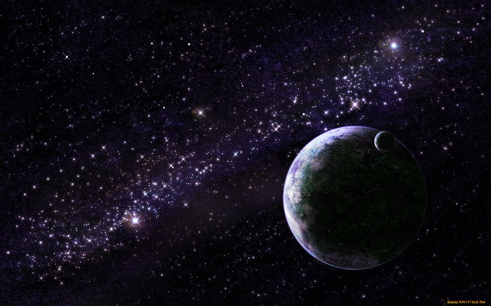 Картинки с анимацией космос