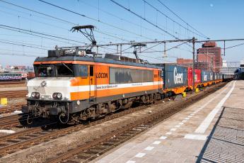 Картинка техника электровозы рельсы локомотив состав