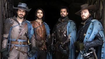 Картинка the+musketeers кино+фильмы the+musketeers+ сериал персонажи