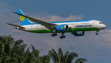 обоя 787 dreamliner, авиация, пассажирские самолёты, авиалайнер