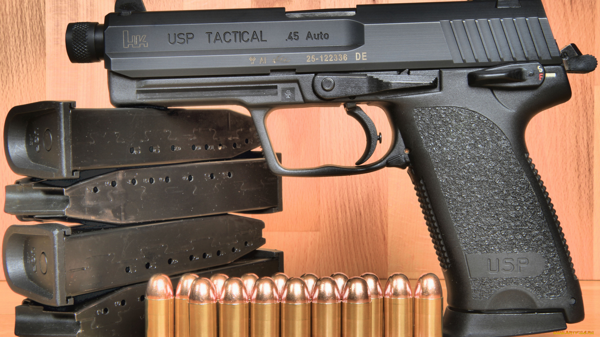 пистолет usp 45 auto в хорошем качестве