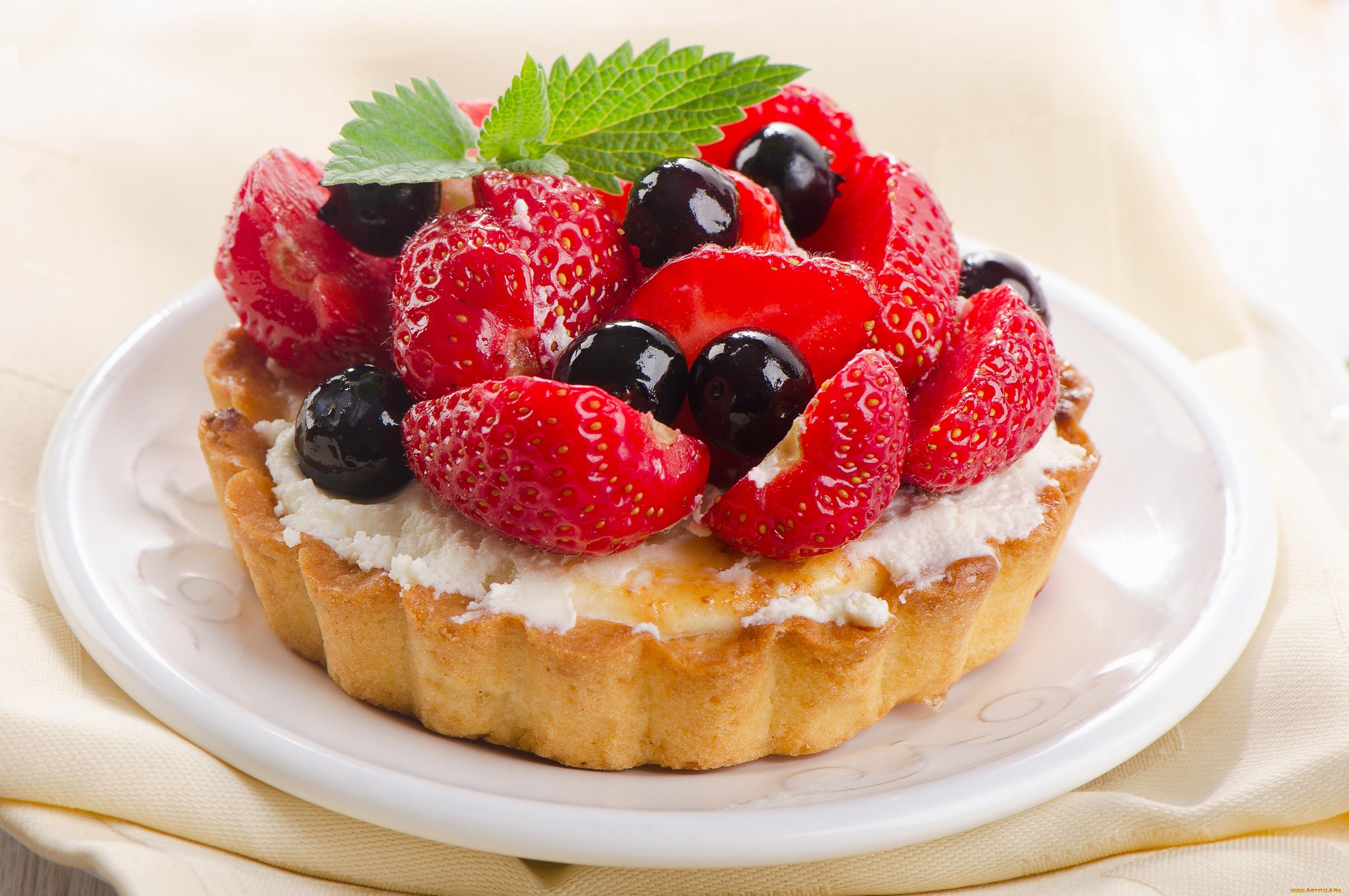 Печенье пирожное клубника скачать