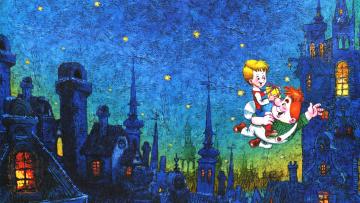 Картинка мультфильмы малыш+и+карлсон карлсон малыш