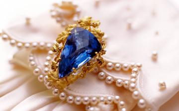 обоя разное, украшения,  аксессуары,  веера, перстень, камень, синий