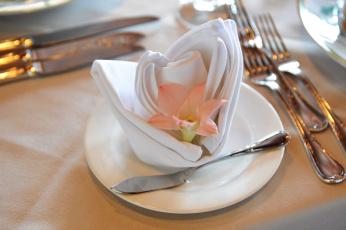 обоя интерьер, декор,  отделка,  сервировка, цветок, салфетка, приборы