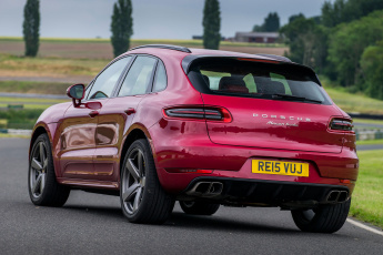 Картинка автомобили porsche macan turbo uk-spec 95b 2014г