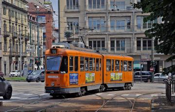 Картинка техника трамваи транспорт рельсы трамвай