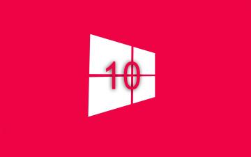 Картинка компьютеры windows+10 фон логотип