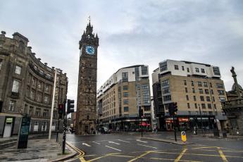 обоя глазго, шотландия, города, - улицы,  площади,  набережные