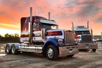 обоя western star, автомобили, грузовик
