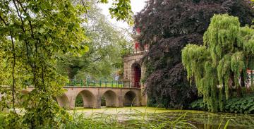 обоя города, - мосты, мост, река, здание