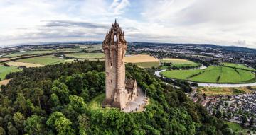 обоя the wallace monument - scotland, города, - исторические,  архитектурные памятники, the, wallace, monument, -, scotland