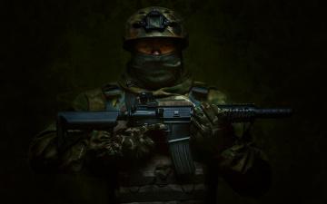обоя оружие, армия, спецназ, солдат, россия