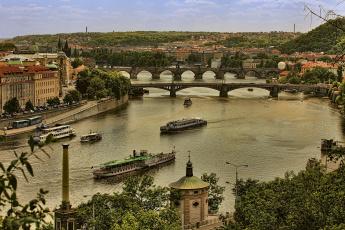 Картинка города прага Чехия hdr