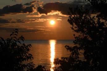обоя природа, восходы, закаты, простор