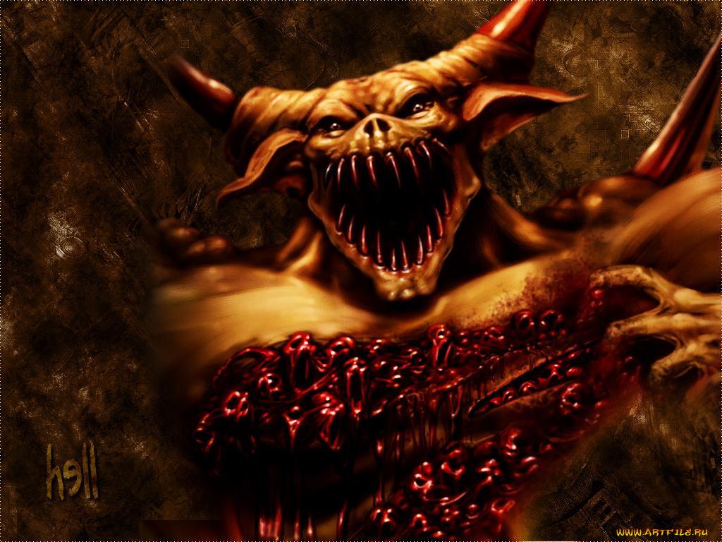 Поздравление, смешные картинки демонов