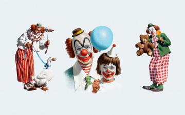 Картинка arthur saron sarnoff рисованные клоуны праздник