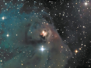 Картинка тельца космос галактики туманности