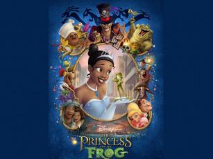 Картинка мультфильмы the princess and frog disney